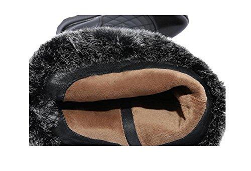 Donne velluto più calda spessa pendenza con stivali , 35
