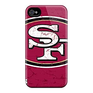 Shock-Absorbing Hard Phone Cases For Iphone 6 (rSO12423JdMQ) Allow Personal Design High Resolution San Francisco 49ers Image