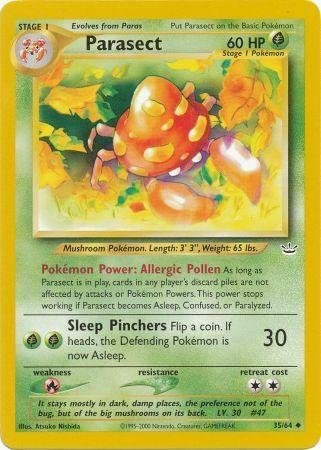 Official Pokemon Trading Cards Rare Uncommon NEO REVELATION Collection Set //64