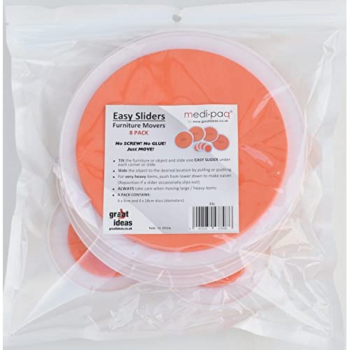Best Medipaq Greatideas The Super Furniture Sliders (Genuine Original  Orange Discs By Medipaq)