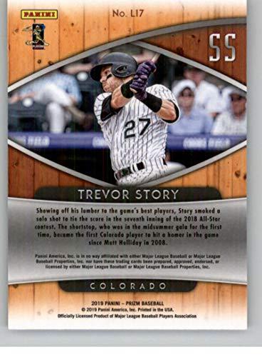 2019 Panini Prizm Lumber Inc Baseball #7 Trevor Story Colorado Rockies MLBPA Licensed Trading Card