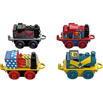 Fisher-Price Thomas & Friends MINIS, DC Super Friends #3 (4-Pack): Toys & Games