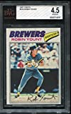 1977 TOPPS Robin Yount #635 BGS 4.5 Milwaukee Brewers Baseball Card