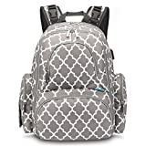 Best Diaper Bag For Twins - CoolBELL Baby Diaper Backpack Bag with Insulated Pockets/Water-Resistant Review