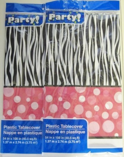 Plastic Table Covers, 54x108