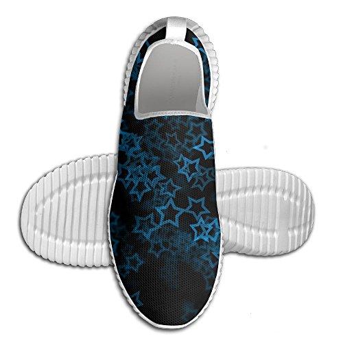 Étoiles Casual Chaussures De Course Mode Unisexe Ventilateurs De Bureau De Ventilation Pour Les Hommes Blanc