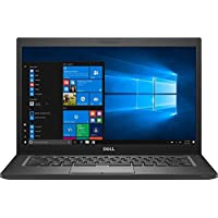 Dell Latitude 7480 14 QHD Touch Laptop PC - Intel Core i7-7600U 2.8GHz 8GB 256GB SSD Windows 10 Professional (Certified Refurbished)