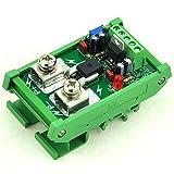 Electronics-Salon DIN Rail Mount +/-100Amp AC/DC Current Sensor Module, based on ACS758