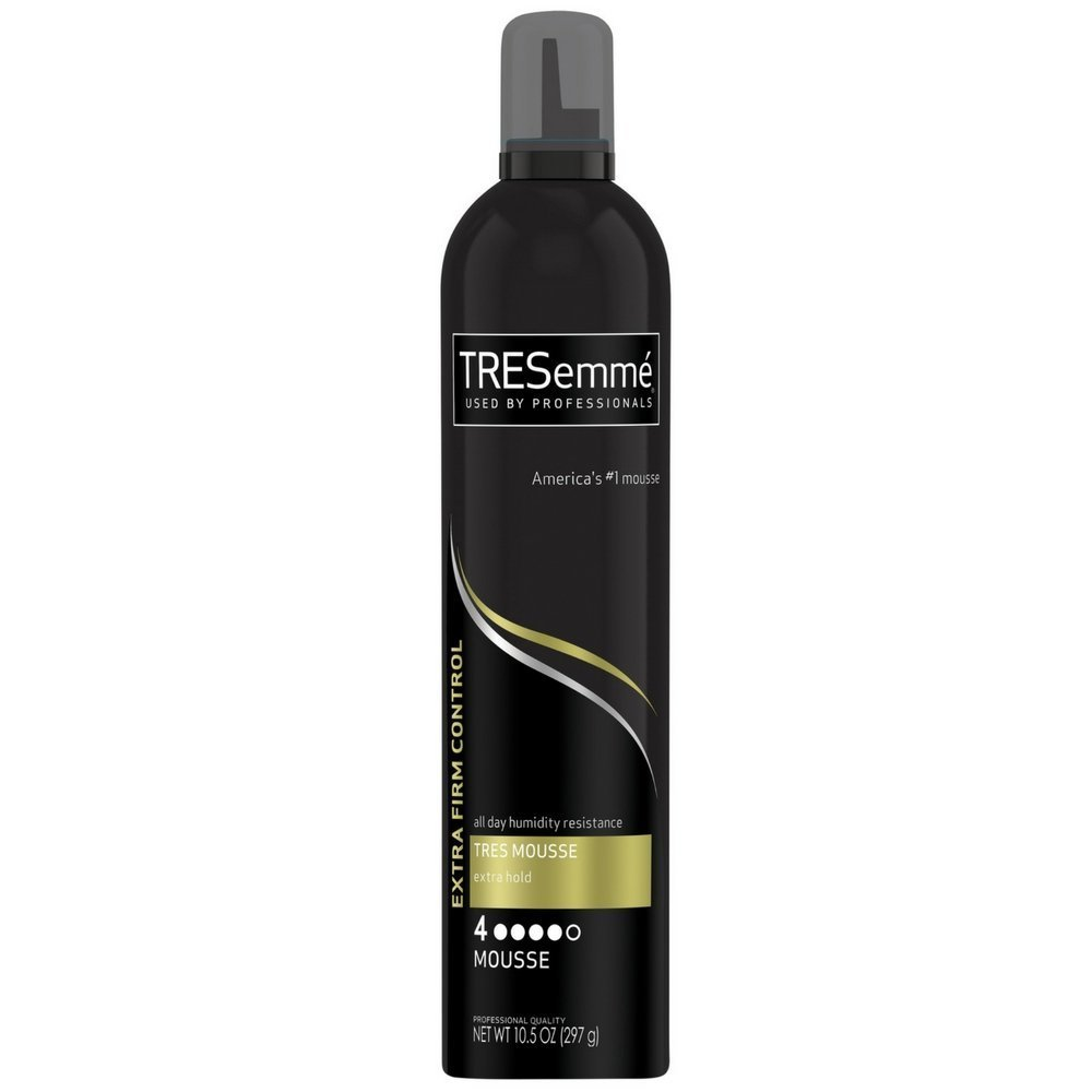 TRESemme Tres Mousse Tres Extra Hold Firm Control Mousse Hair Styling Mousses,10.5 Ounce