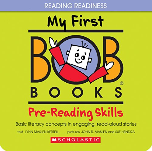 My First BOB Books: Pre-Reading Skills (Magazine Cover Front)
