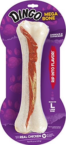 - Dingo Mega Bone Rawhide Chew with Meat 8