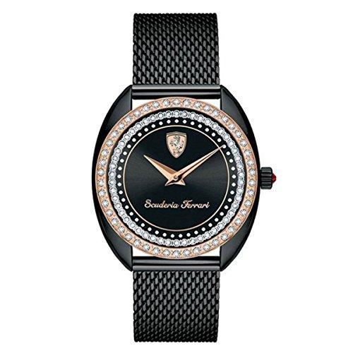 Ladies Analog Casual Quartz Ferrari Watch - Women Ferrari