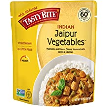 Tasty Bite Indian Entrée, Jaipur Vegetables, 10 Ounce