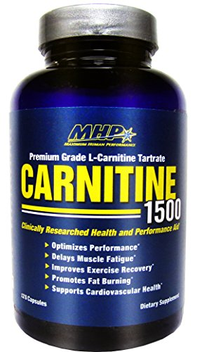 MHP, Carnitine Capsules, 120 Count