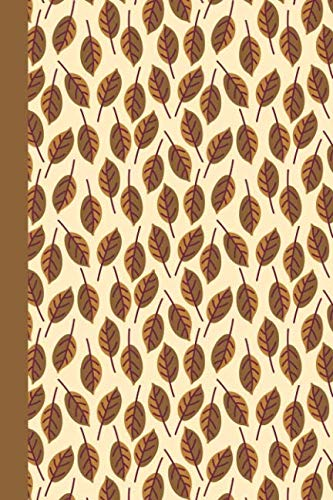 Journal: Fall Leaves - 6x9 LINED JOURNAL - Writing journal with blank lined pages -