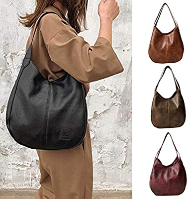 e70235ab46c9 Sunbona (TM) Handbag Organizer Fashion Women's Soft Leather Shoulder ...