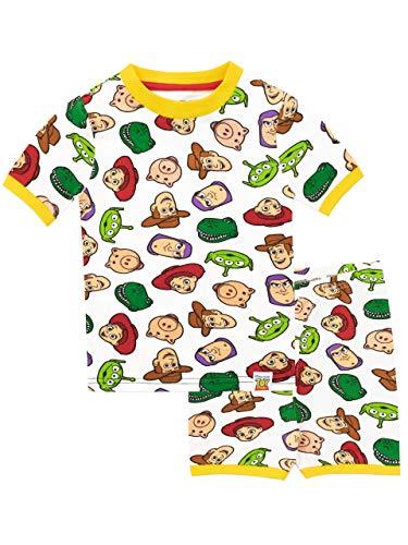 Disney Boys' Toy Story Multicolored Pajamas Size7