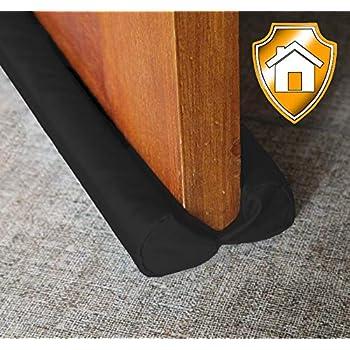 MAXTID Under Door Draft Blocker Black 32-38