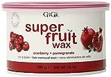 Gigi Super Fruit Wax Cranberry & Pomegranate 14 oz. (Pack of 2)