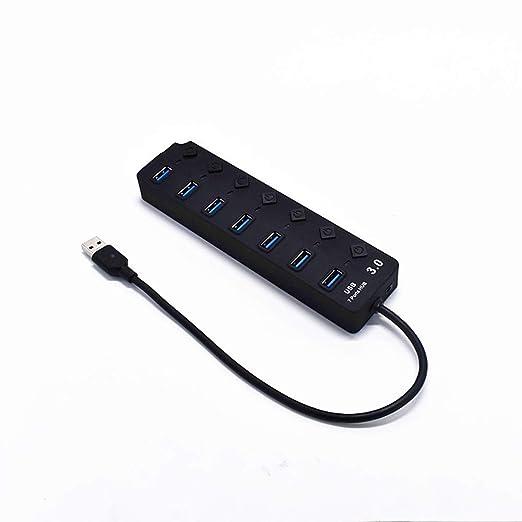 ZWCC UGREEN USB 3.0 hub, Soporte para teléfono con Lector de ...