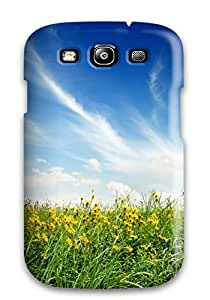 New Arrival Cover Case With Nice Design For Galaxy S3- Yellow Flowers 6122361K62684740