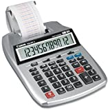 Canon Products - Canon - P23-DHV2 Desktop Calculator, 12-Digit LCD, Two-Color Printing, Purple/Red - Sold As 1 Each - The next generation portable printing calculator has arrived. - Features Time Calculation where time-based fee structures are needed. - Delivers high-performance for your everyday calculations. - Time and Date function enables you to view the time and date with a quick glance. - Ability to perform profit margin calculations with the touch of just a few keys.