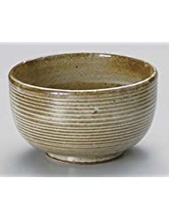 Kobiki Kushime 6 9inch Set Of 5 Ramen Bowls Beige Ceramic Made In Japan