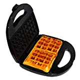 Libra 2 Slice 750W Waffle Maker with cool touch housing