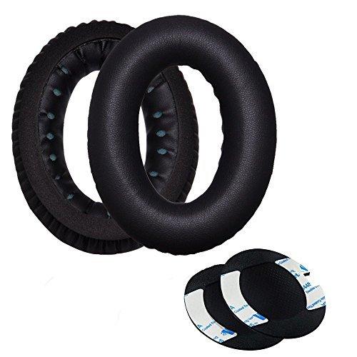 Sunmns Replacement Earpad Ear Pad Cover Foam Cushion for Bose Quietcomfort 2 QC2, Quietcomfort 15 QC15, Quietcomfort 25 QC25, Ae2, Ae2i, Ae2w