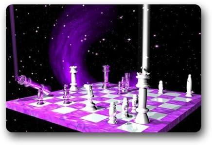 KLing Espaciador de Interior Personalizado, ajedrez Espacial, diseño Personalizado, máquina-wahable, tapete de Goma, Neopreno, 16 x 24,40 cm x 60 cm: Amazon.es: Hogar