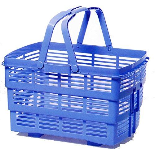 Sana Enterprises Italian Design Collapsable Plastic Basket/Tote, 23 L