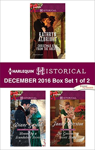 book cover of Harlequin Historical December 2016 - Box Set 1 of 2