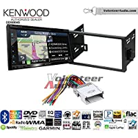 Volunteer Audio Kenwood Excelon DNX694S Double Din Radio Install Kit with GPS Navigation System Android Auto Apple CarPlay Fits 2007-2011 Chevrolet Aveo
