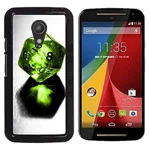 Be Good Phone Accessory // Dura Cáscara cubierta Protectora Caso Carcasa Funda de Protección para Motorola MOTO G 2ND GEN II // Design Dice