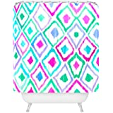 """Deny Designs Amy Sia Watercolor Ikat 2 Shower Curtain, 69"""" x 72"""""""