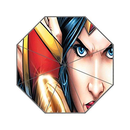 ScottShop Wonder Woman Custom Generic Foldable Umbrella Sun Rain - Wonder Woman Umbrella