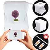 "Photo Box Portable Light Box Kit With LED Light for Photo Box Shooting -12"" Foldable Photo Light Tent, Photo Studio Kit,Photography Lighting Tent Kit"