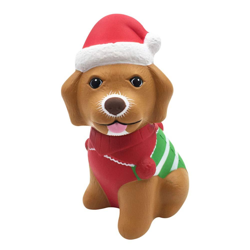 STOBOK Weihnachtshund Squishy Langsame steigende ...