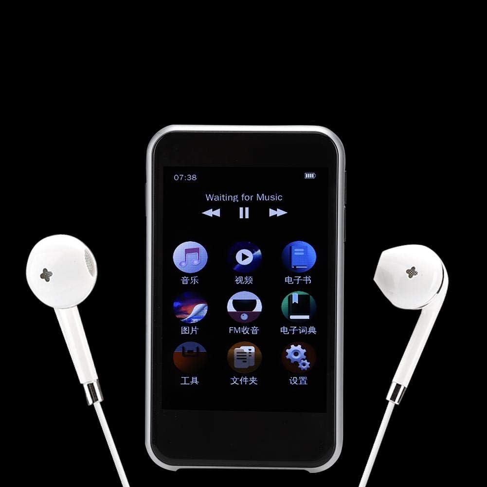 TFT Full Touch Screen Hakeeta Lettore Video Musicale HiFi MP3//MP4//MP5 1080P da 3,5 Pollici Slim Portatile 4G Bluetooth4.1 con Auricolari Touch Control 4G//8G16G//32G Supporto 128 TF Card