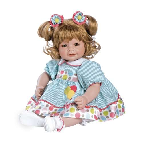 """Adora Toddler Up Up and Away 20"""" Girl Weighted Doll Gift Set for Children 6+ Huggable Vinyl Cuddly Snuggle Soft BodyToy"""