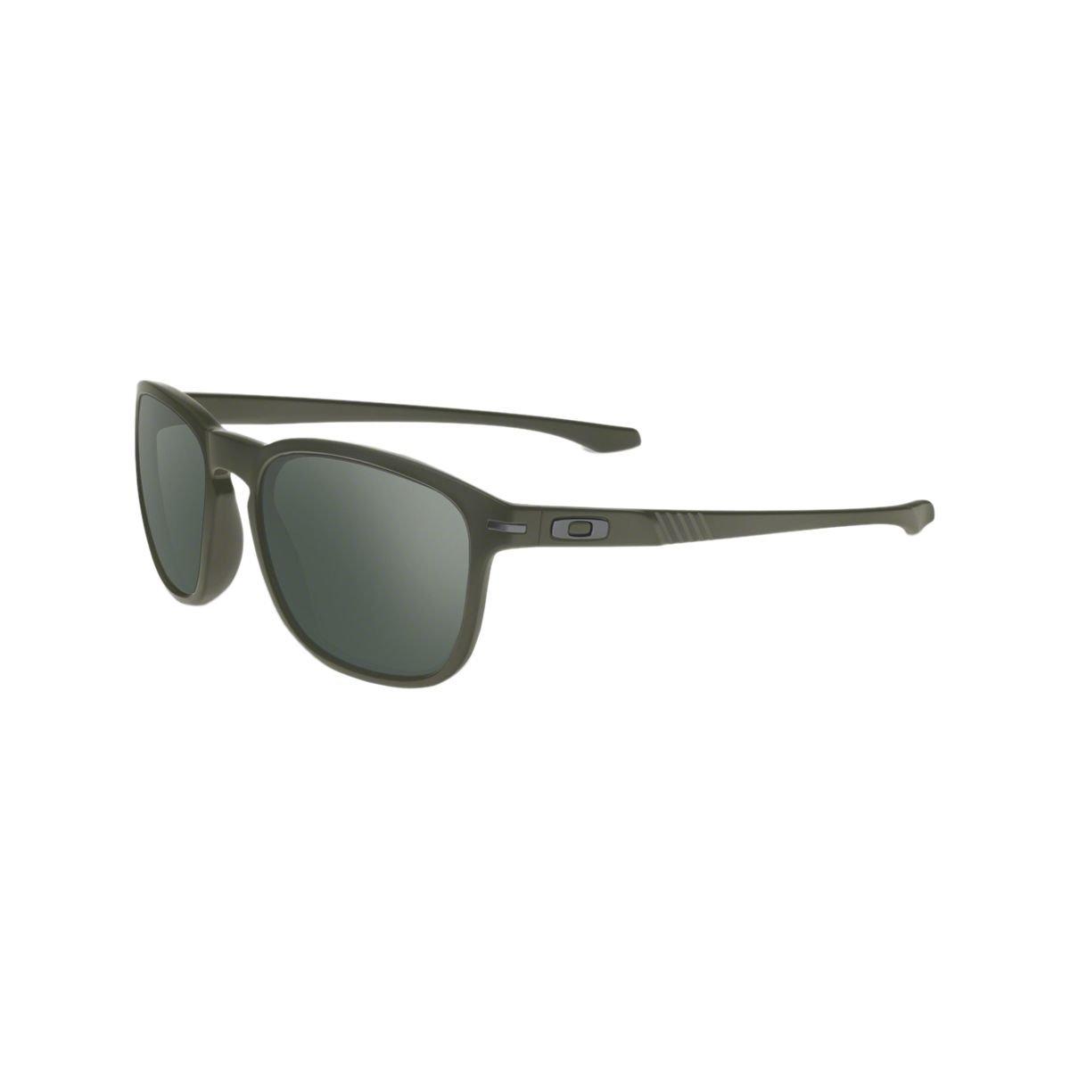 Oakley Unisex Sonnenbrille Enduro, Gr. Large (Herstellergröße: 55), Mehrfarbig (Gestell: matt Moss; Gläser: Dark Grey 9223-16)