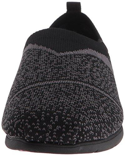 Lite Plush Sox BOBS Flat Grey Skechers mujeres para Black de Hop qpxItpwER