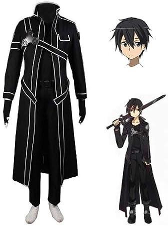 personnage long manteau épée jeu manga