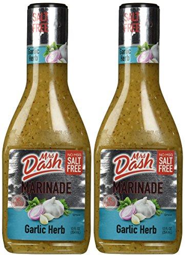 Mrs. Dash Marinade Salt-free Garlic Herb, 12 Oz (Pack of - Warehouse Dash