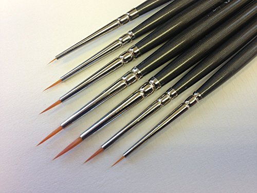 Modelmakers Miniature Ultra Detail Brushes product image