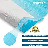 Remedies Disposable Underpads With Ultra