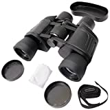 Krevia 8x40mm Powerful Prism Binocular Telescope Outdoor With Pouch - Black