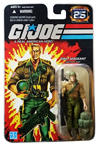 G.I. Joe 25th Anniversary: Duke (First Sergeant) 3-3/4 Inch Action Figure -