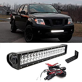 Amazon putco 2290 luminix frontier roof bracket kit for ijdmtoy 20 120w high power led light bar w lower bumper grille mounting bracket aloadofball Choice Image
