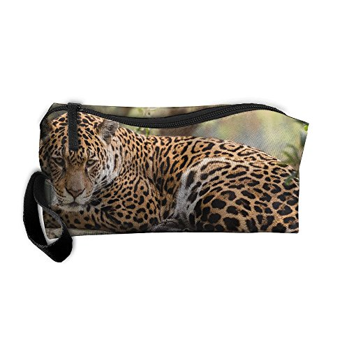Jaguar Clutch (Jaguar Looking Travel Clutch Bags For Womens Cosmetic Case With Zipper)